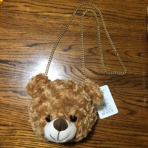 Handbags - NEW Soft Brown Bear Purse